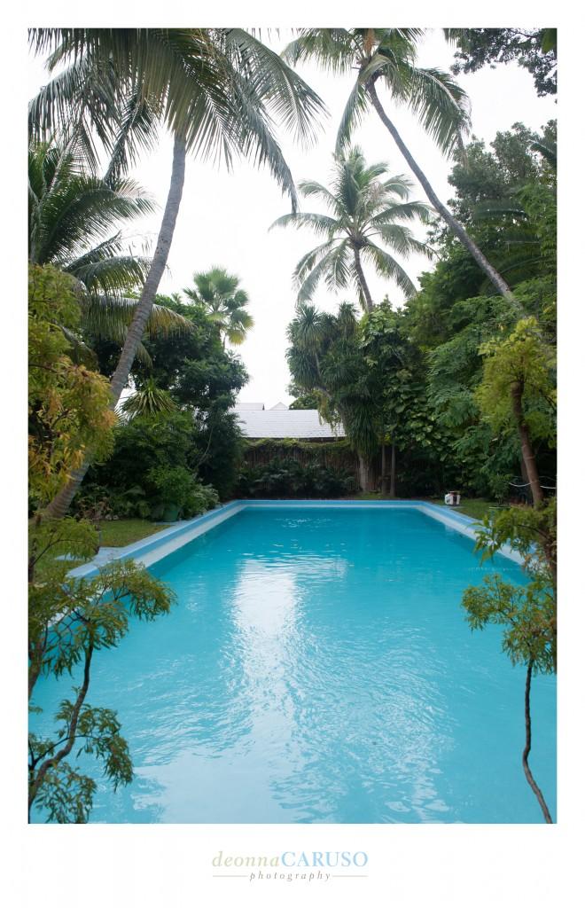 Ernest Hemingway's pool