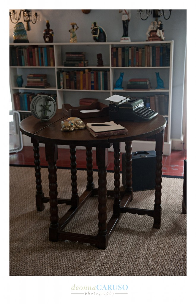Ernest Hemingway's workstation