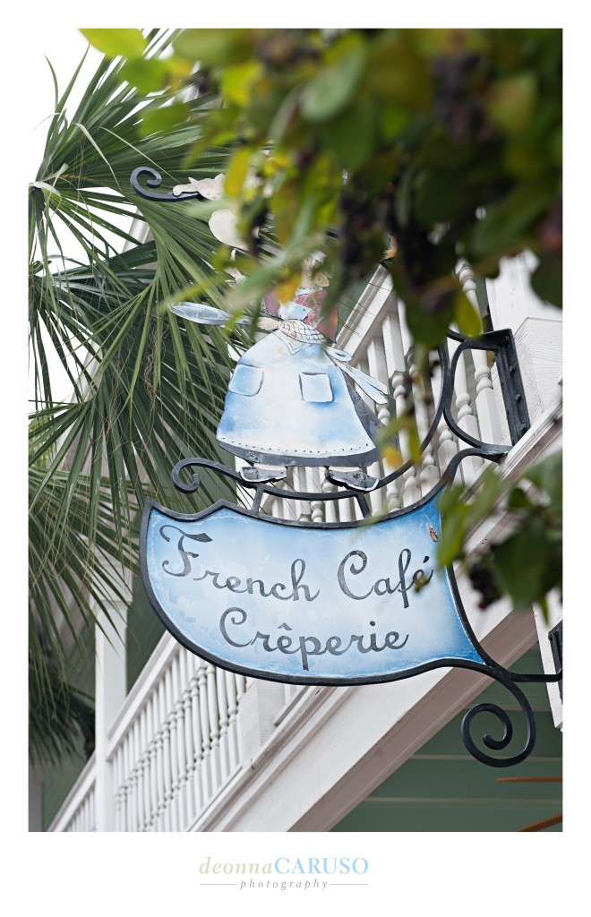 If you are visiting Key West for the first time or just returning please make sure you go to the French Cafe Creperie for breakfast for the BEST crepes you ever tasted in your life!  These were seriously good!